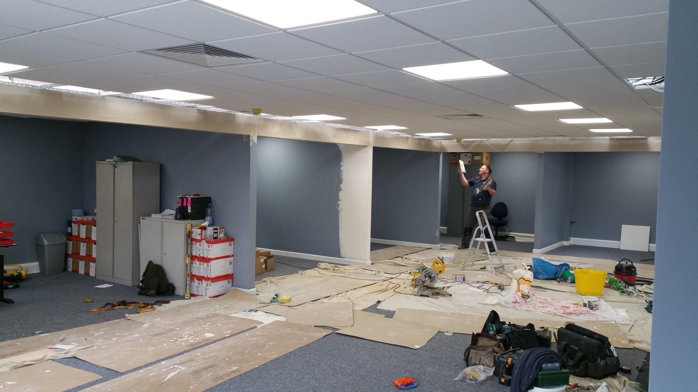 new office installation London