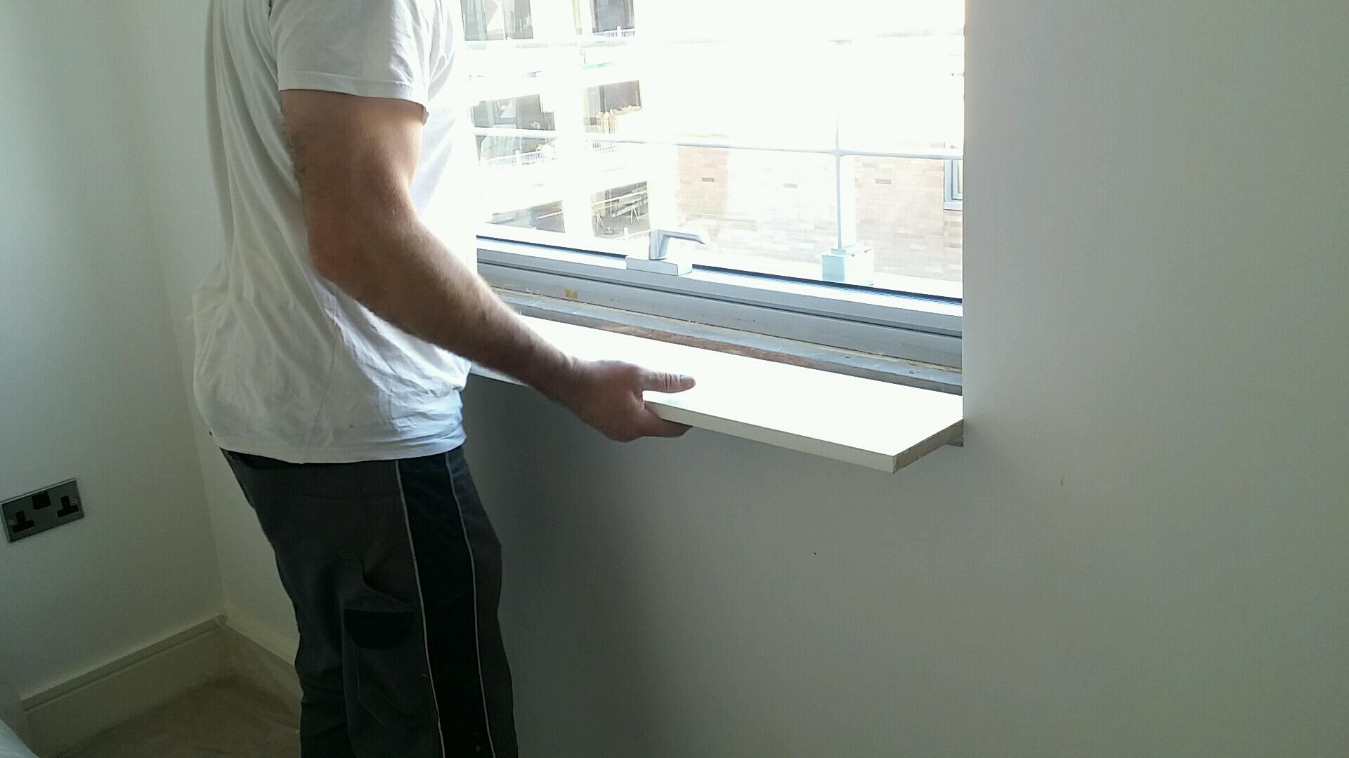 Fixing window sill London