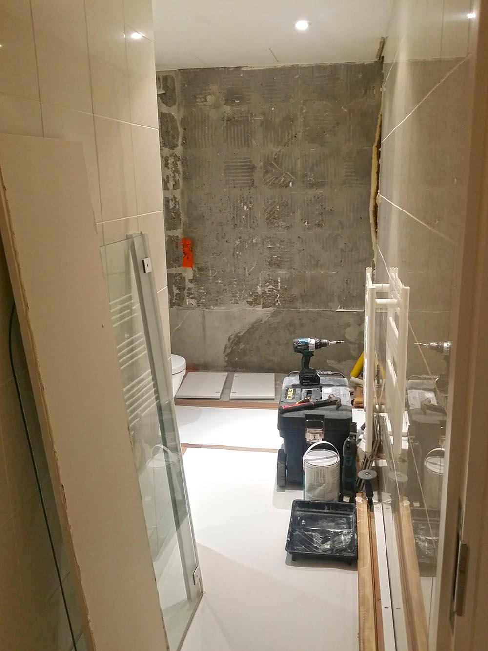 installation of a new bathroom London